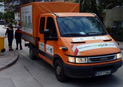 Vozilo za sakupljanje selektiranog otpada